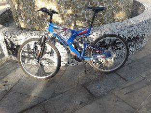 Blade speed bicycle